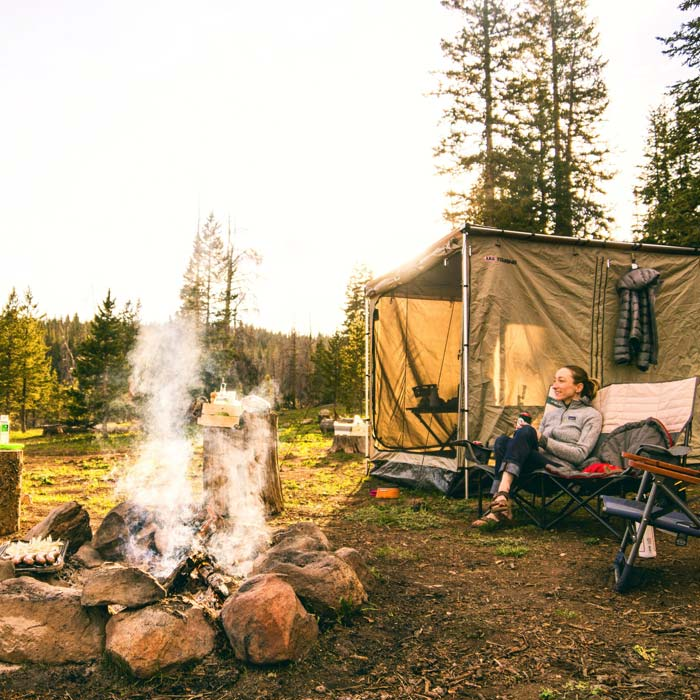 camping at Steamboat Springs, United States