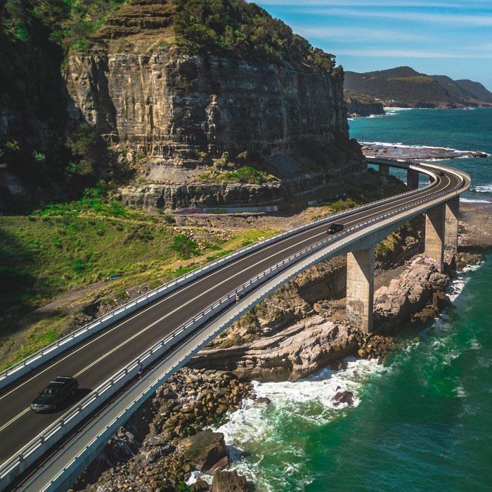 Sea Cliff Bridge, Clifton, Australia