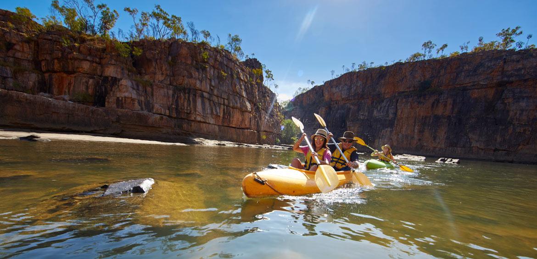 Canoe through Katherine Gorge