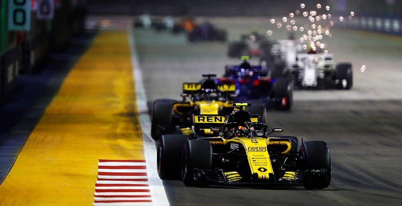 Carlos Sainz Jr, Formula 1 Singapore Grand Prix