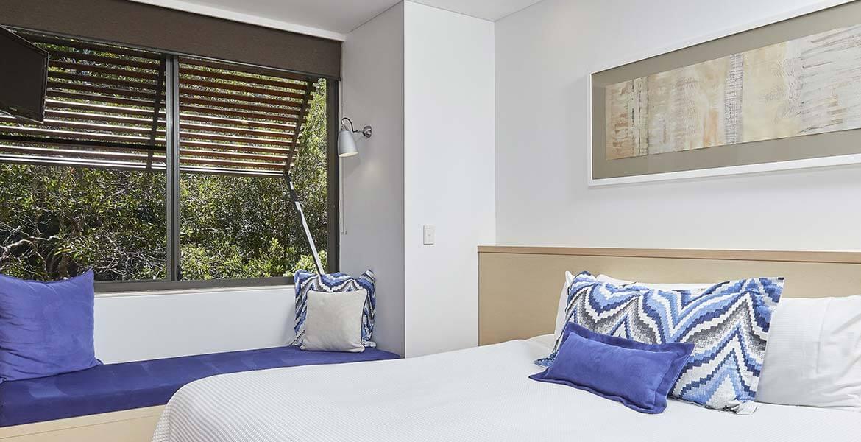 Room at The Byron at Byron Resort and Spa