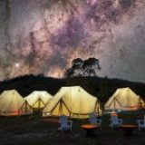 Sleep under the stars these school holidays: Tidbinbilla Pop Up Family Wilderness Camp