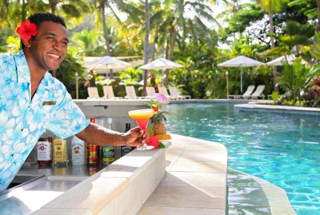 Castaway Island resort Fiji.