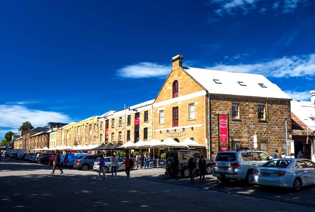 Salamanca Place Hobart Tasmania