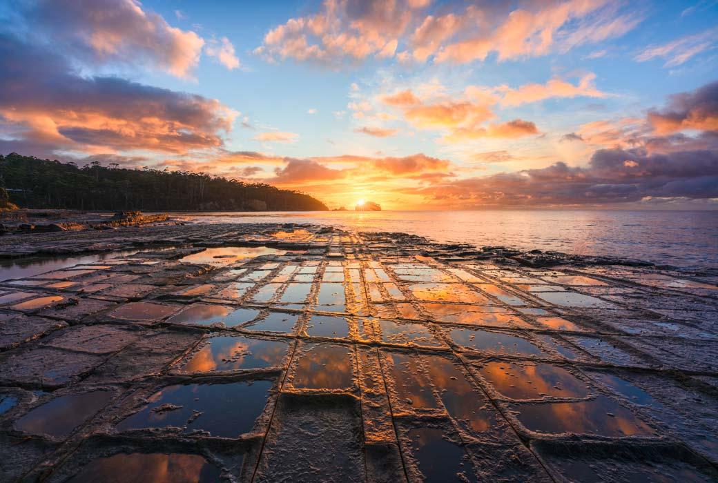 Tessellated Pavement Tasmania