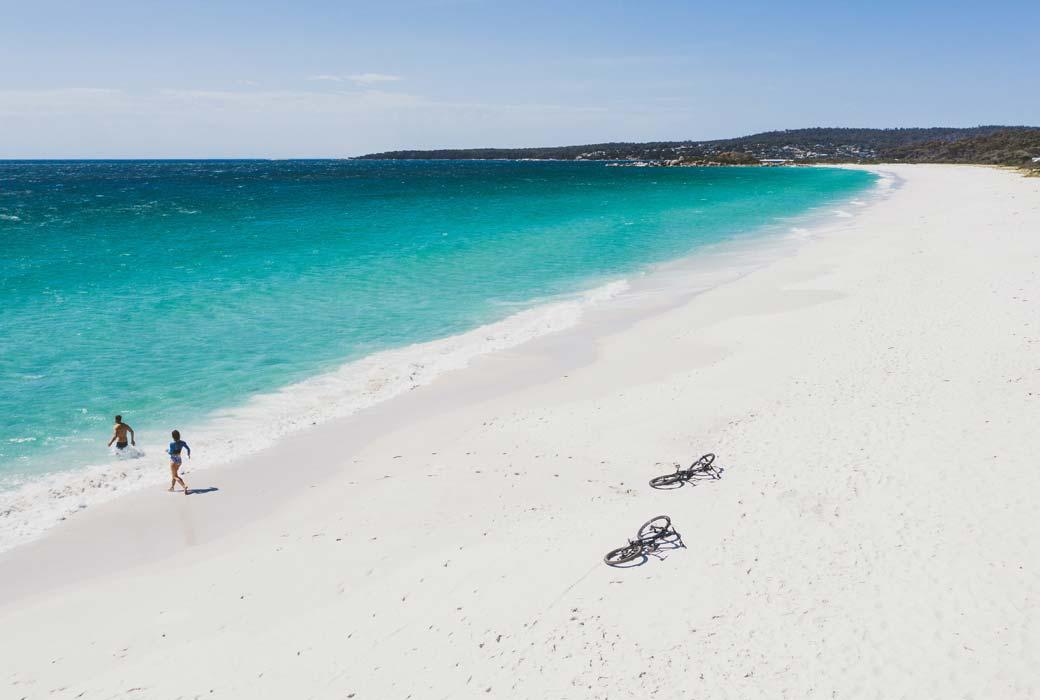 Swimcart beach Tasmania