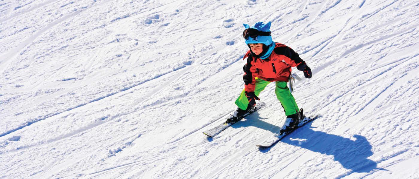 Selwyn Snowfields skiing with kids