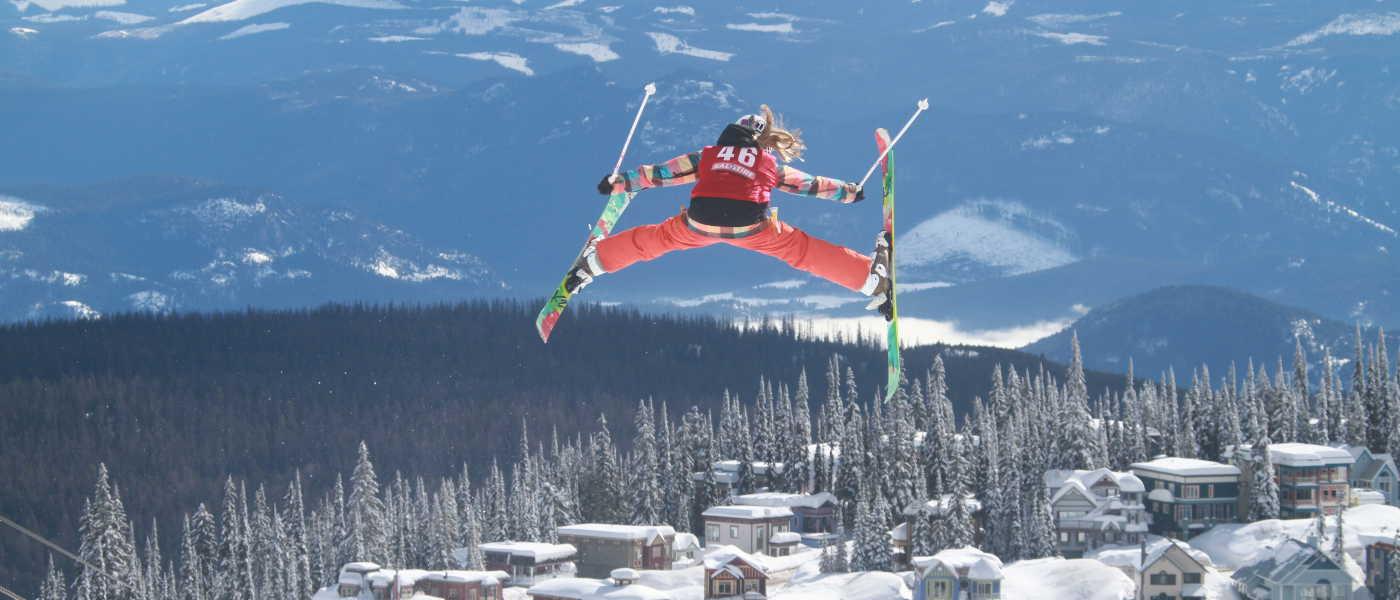 © Silverstar Resort skiing with kids