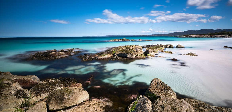Tasmania blue waters