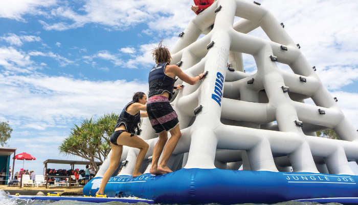 Port macquarie family holiday: stoney aqua park