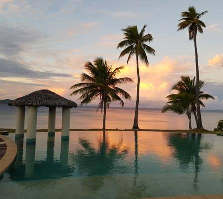 Adults only pool at Mana Island Resort & Spa