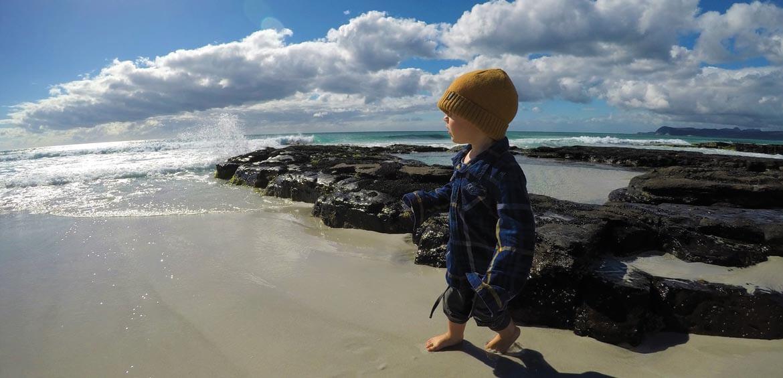 Beach in Freycinet, Tasmania
