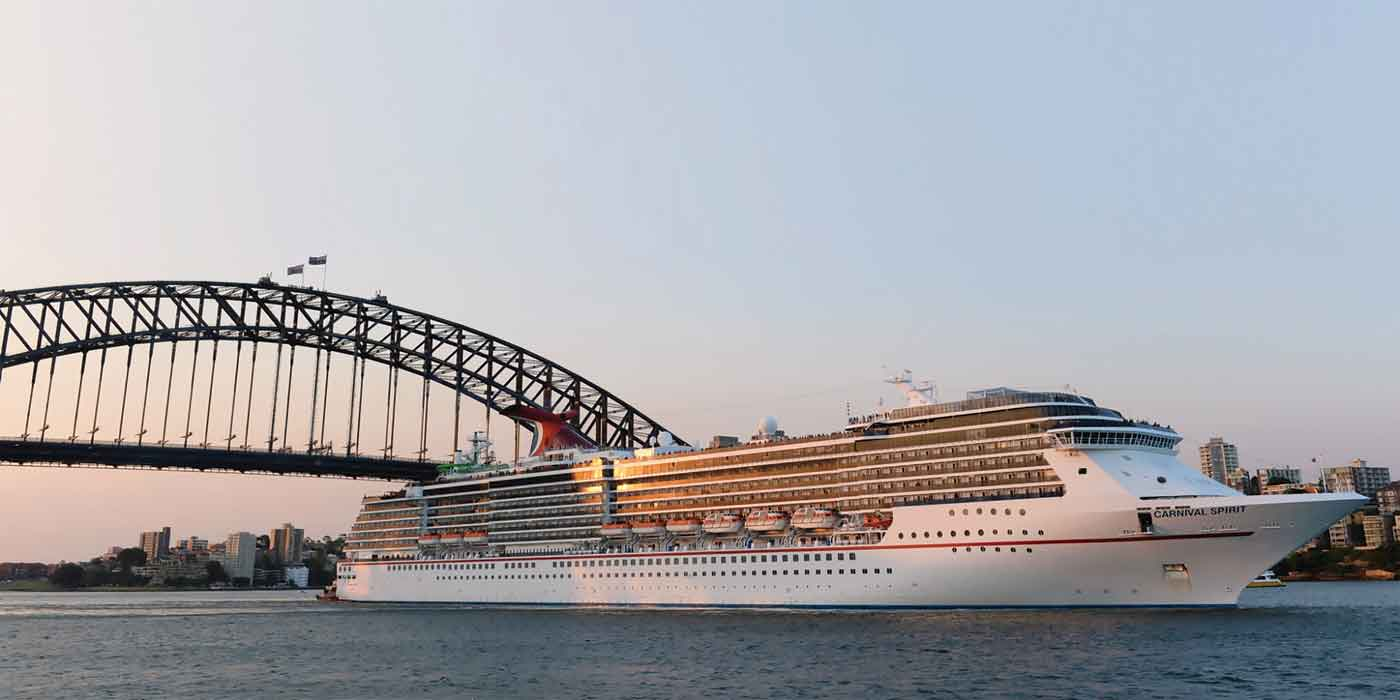 Departing Sydney © Carnival Cruises