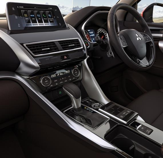 Interior of Mitsubishi Eclipse Cross LS SUV