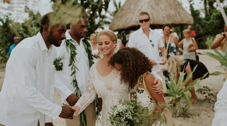 My Fijian wedding with kids