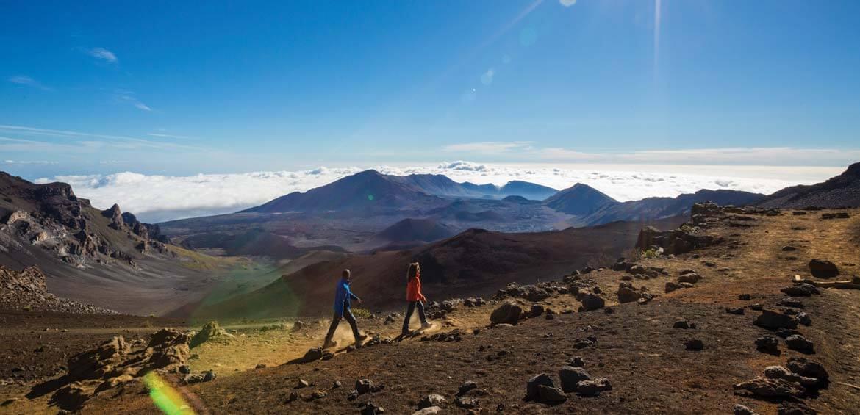 Hiking Maui