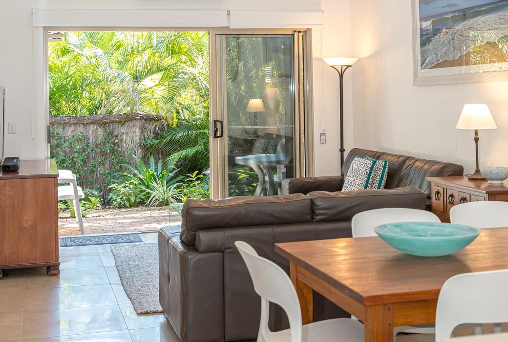 The Islander Noosa Resort self contained villa