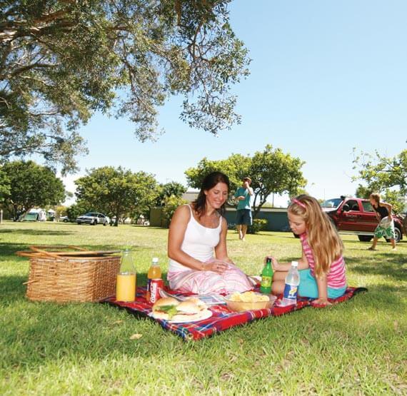 Kirra Beach Tourist Park picnic