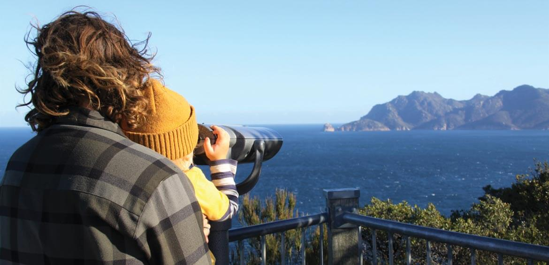 Lookout in Freycinet, Tasmania