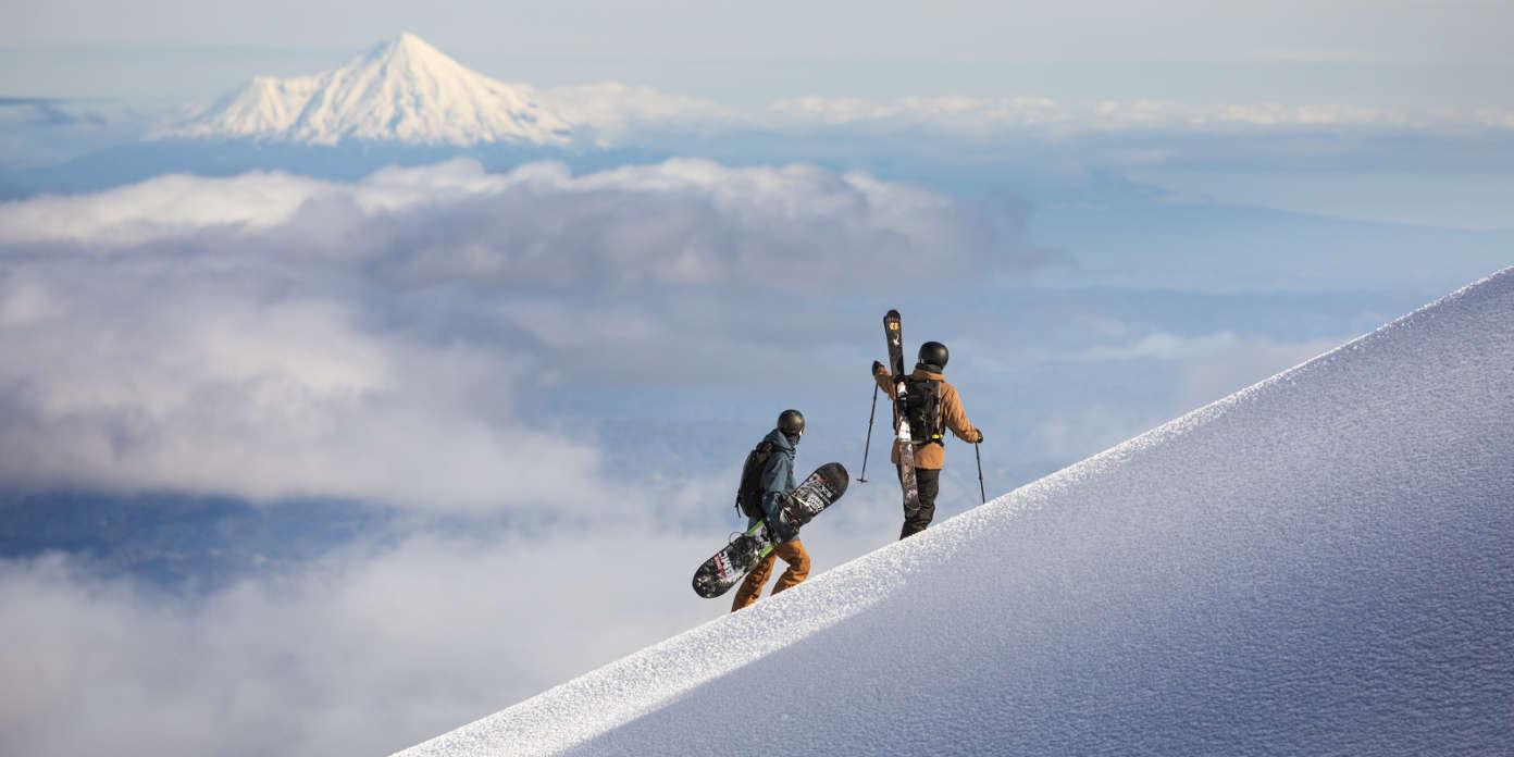 Hiking Mt Ruapehu