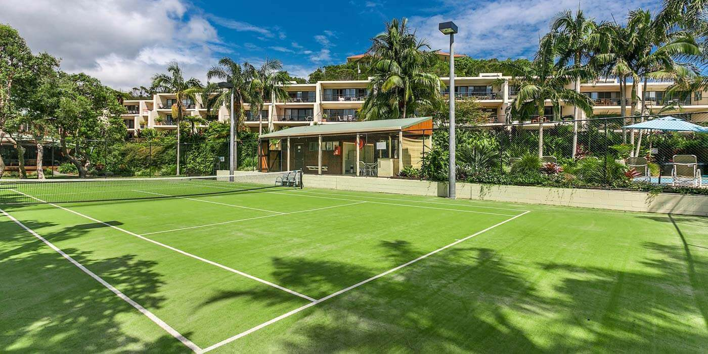 Byron Oasis Resort tennis courts