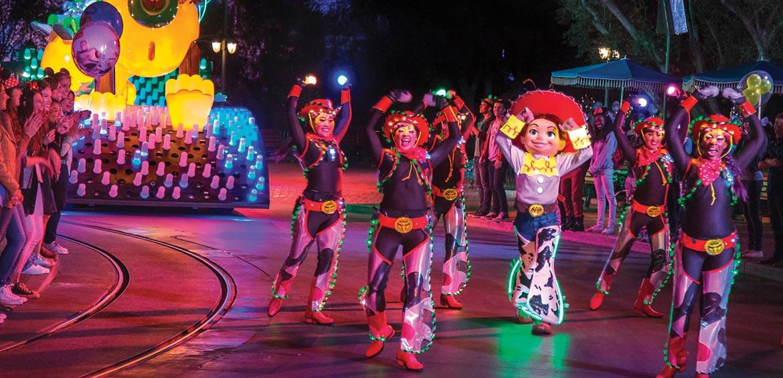 Parade at Disneyland Resort, California