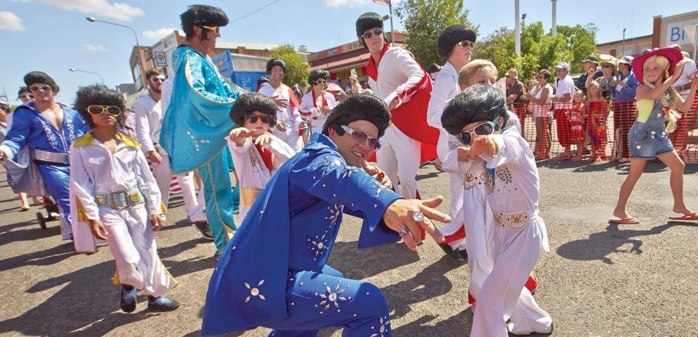 Parkes Elvis Festival parade