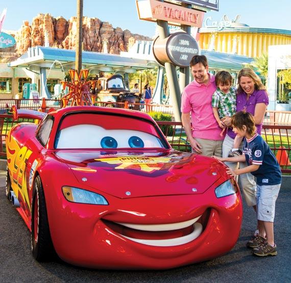 Cars at Disneyland Resort, California