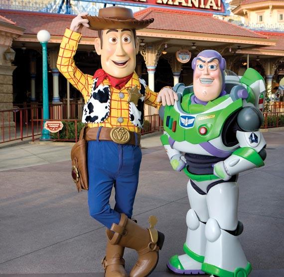 Toy Story at Disneyland Resort, California
