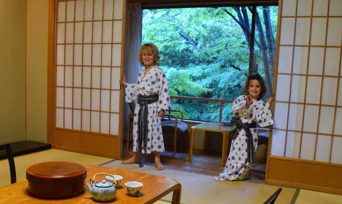 Japan traditional ryokan