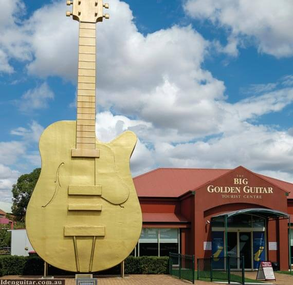 The Golden Guitar at Tamworth