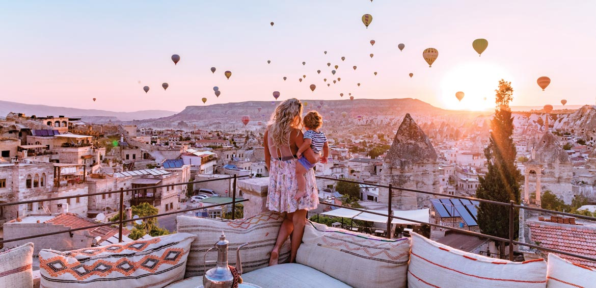 Travelling with a baby in Cappadocia