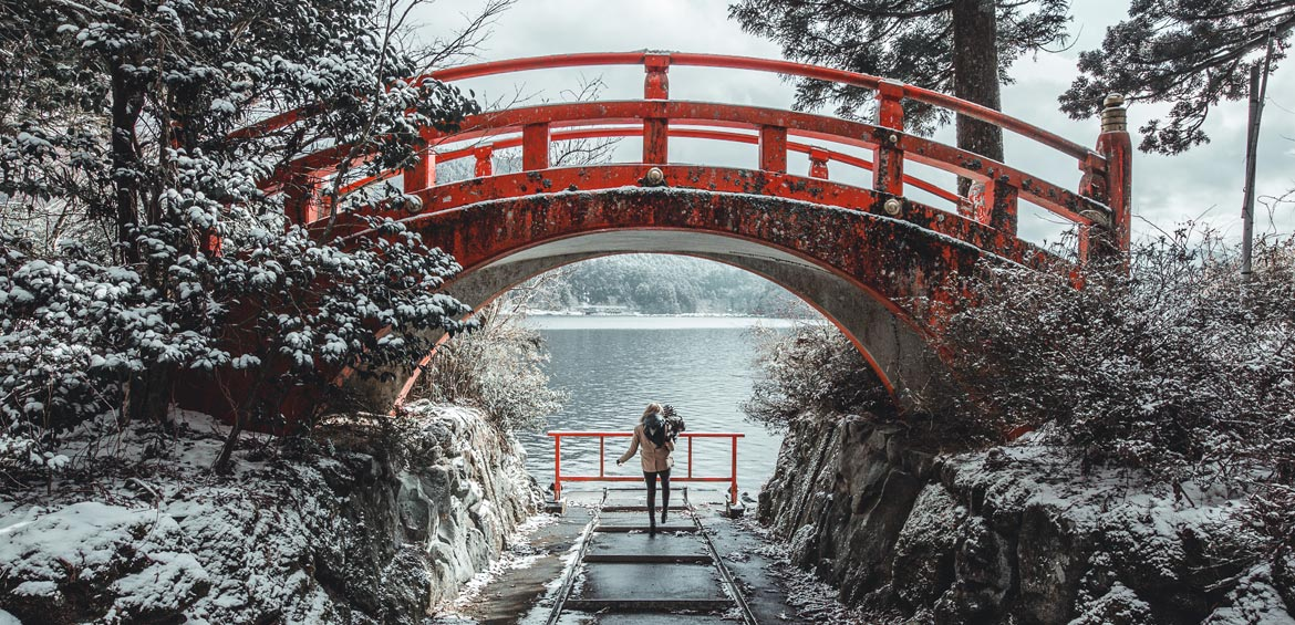 Travelling with a baby in Hakone