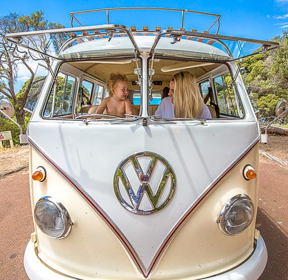 Travelling with a baby in Kombi