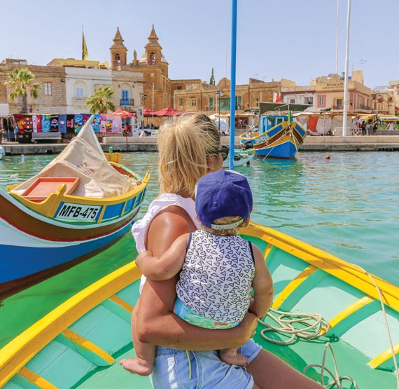 Travelling with a baby in Malta