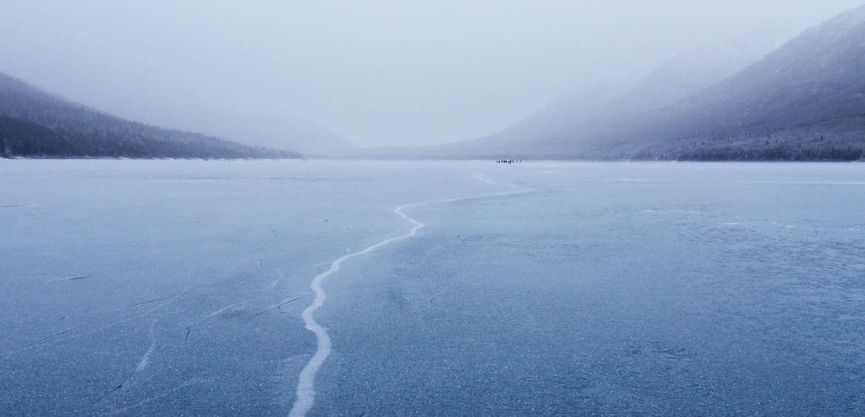 Alaska: ice