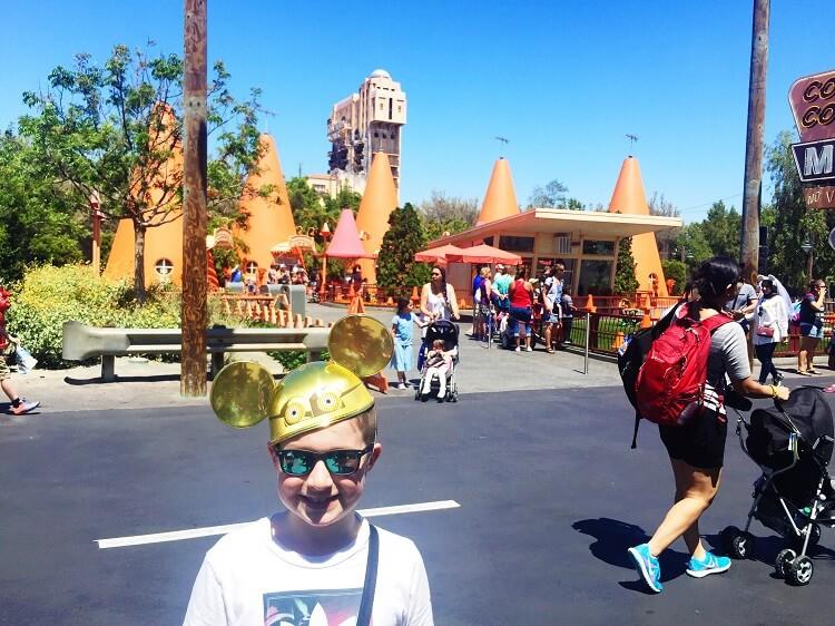Disneyland California with kids