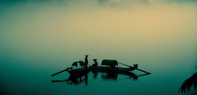 China: river