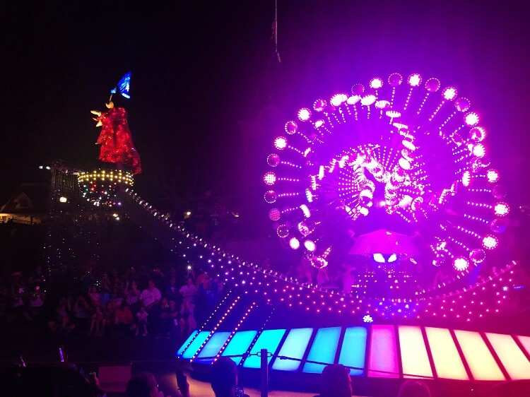 Disneyland California night parade