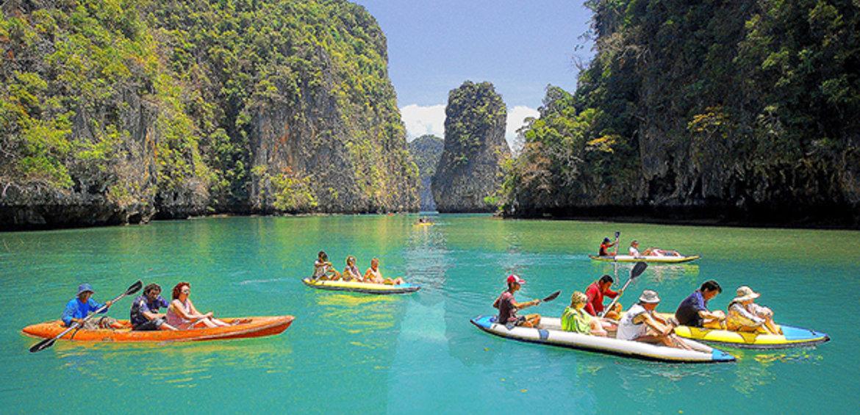 phuket thailand kayaking