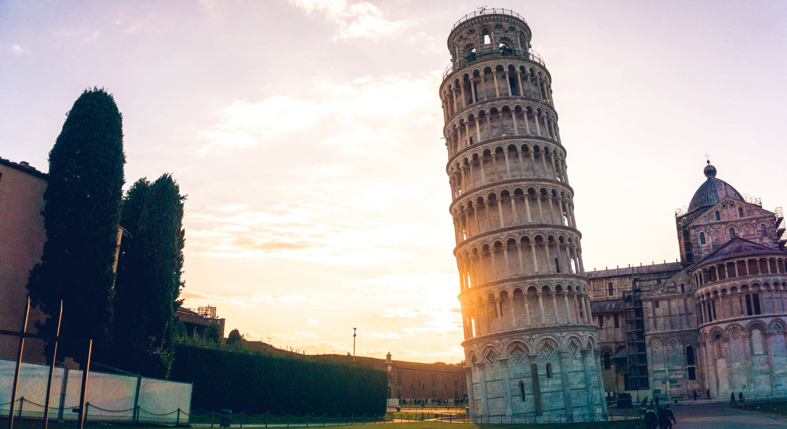 The Leaning Tower of Pisa by Yeo Khee