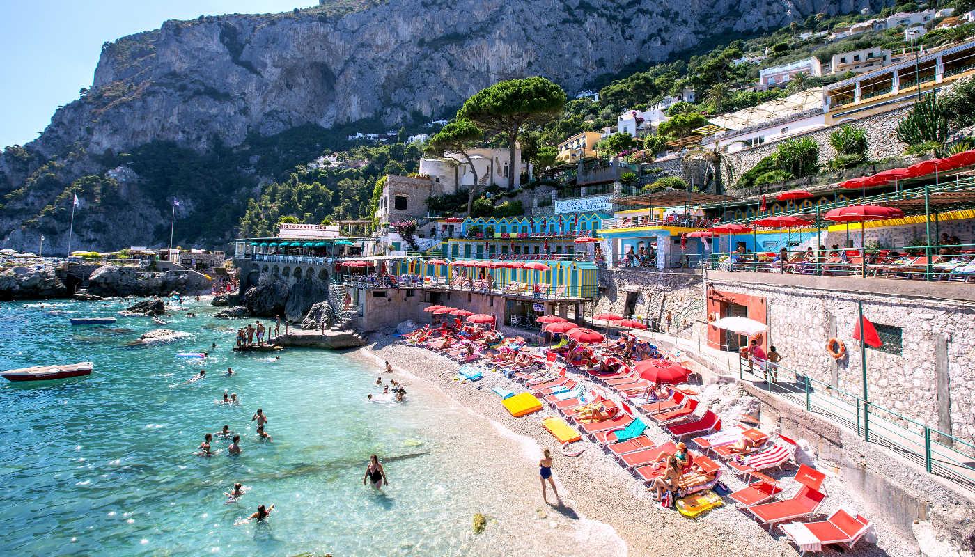 Capri beaches