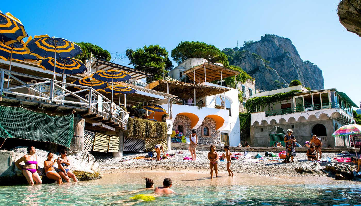 Capri swimming pools