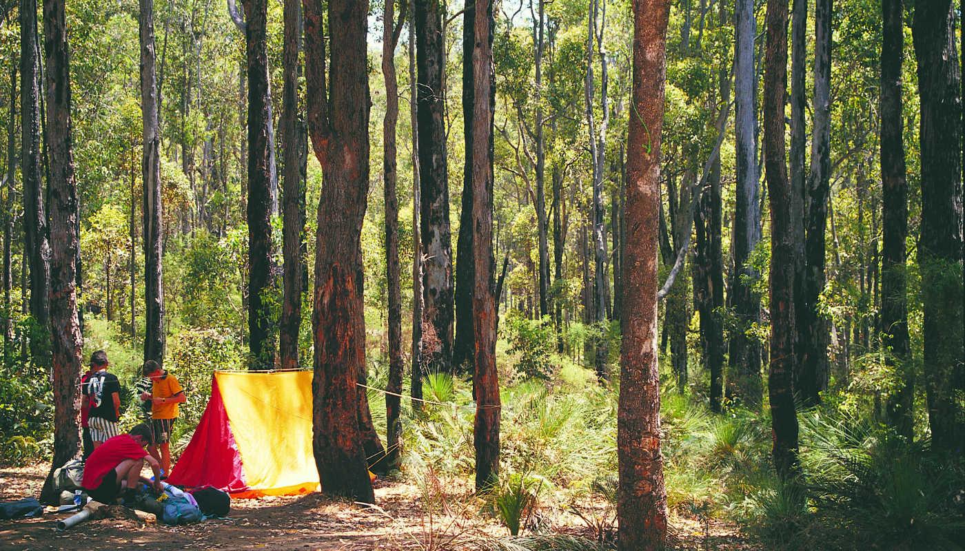 camping perth