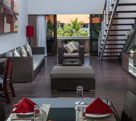 3 Bedroom Suite with Loft