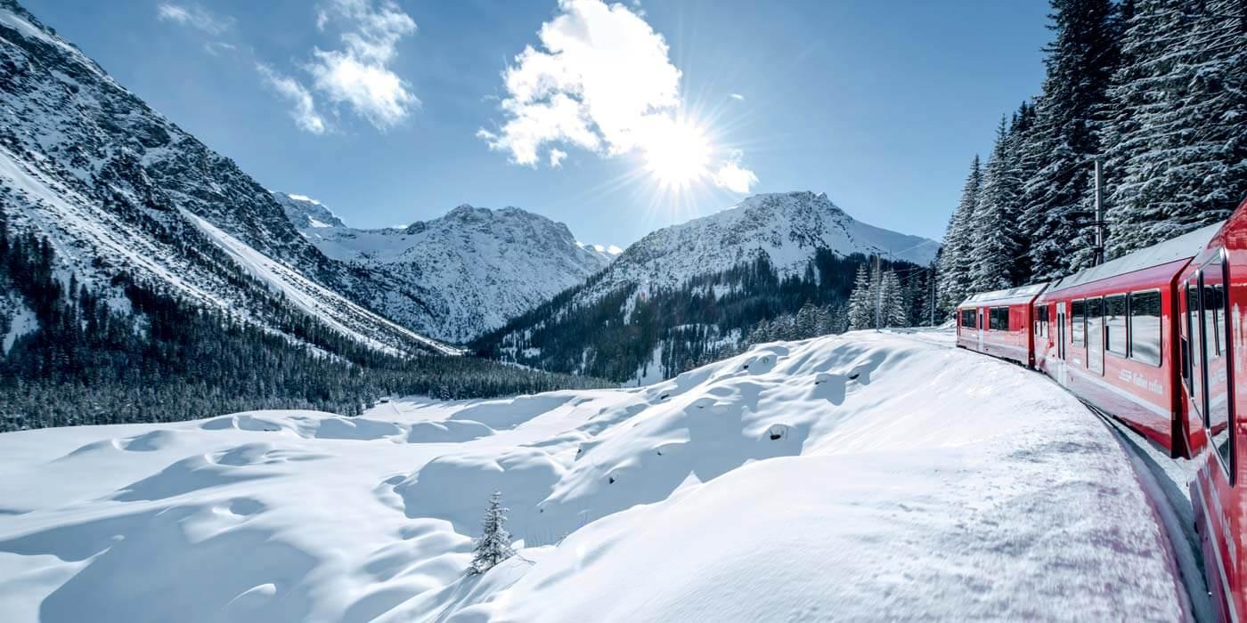 Arosa skiing switzerland