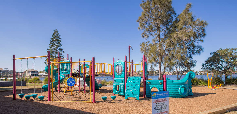 Belmont playground_Credit Lake Macquarie Holiday Parks
