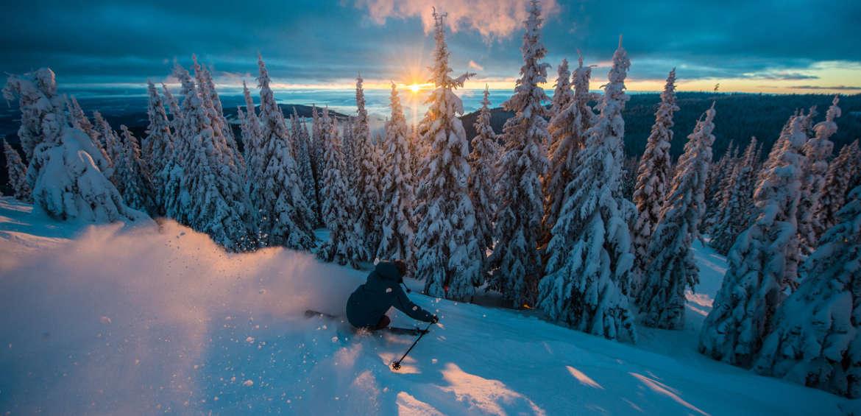 Image courtesy of SilverStar Mountain Resort canada ski resort