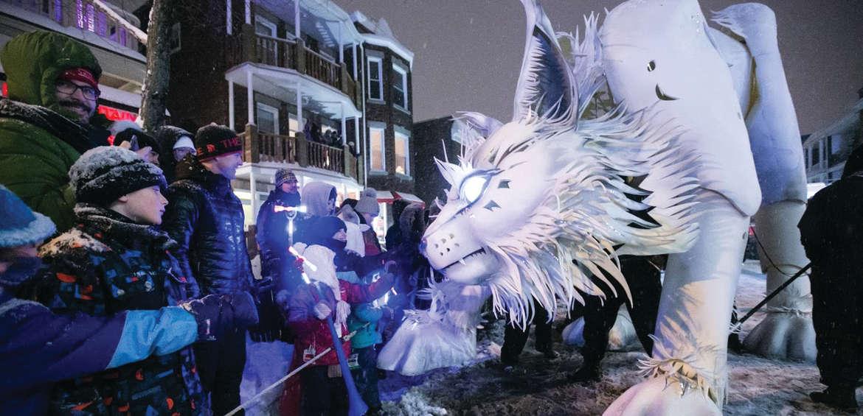 Winter festivals: Carnaval de Quebec