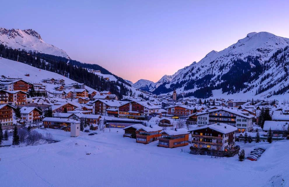 Shredding the Arlberg: Snow holidays in Europe Dan Avila